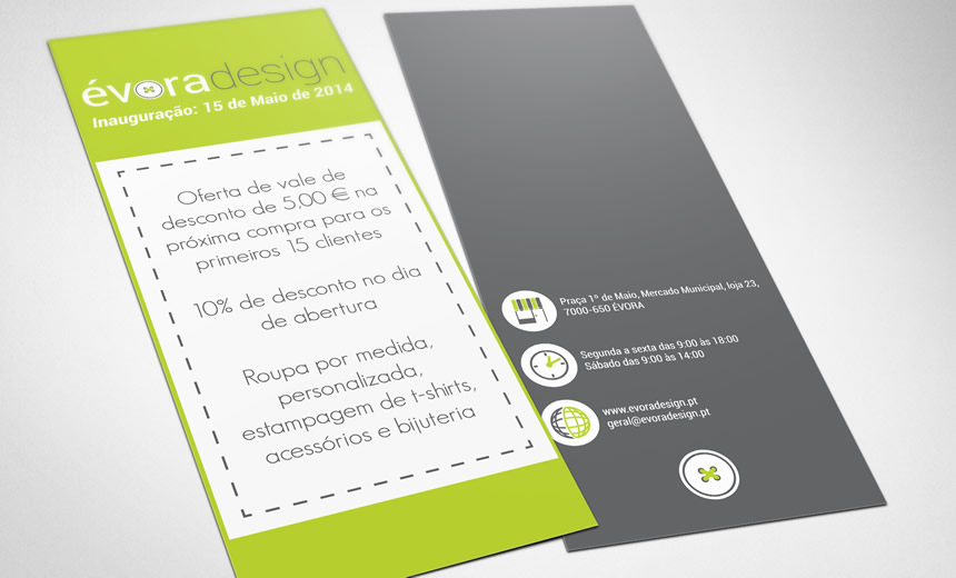 Flyer - Évora Design